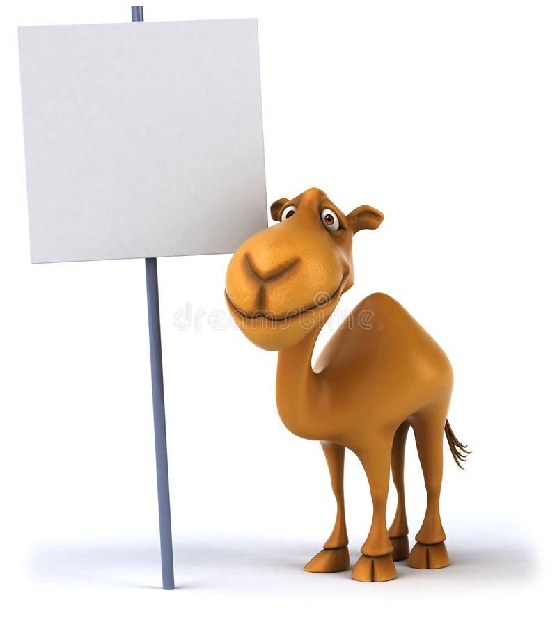 Camello de la diversión ilustración del vector