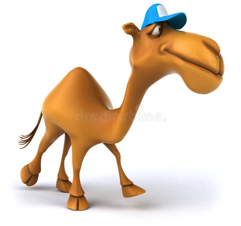 Camello de la diversión libre illustration