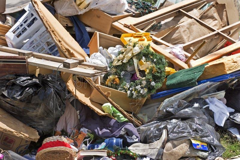 Camelote de ménage et garbash-2 image libre de droits