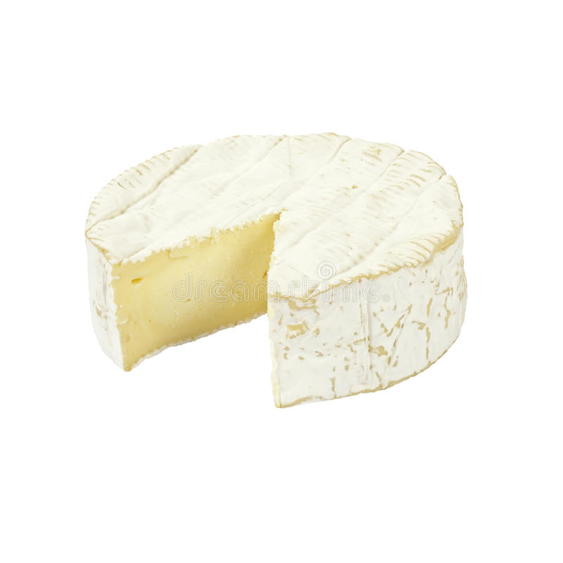 Camembert ser. obraz stock
