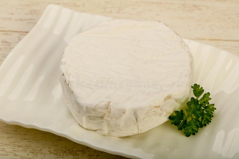 Camembert ser zdjęcia stock
