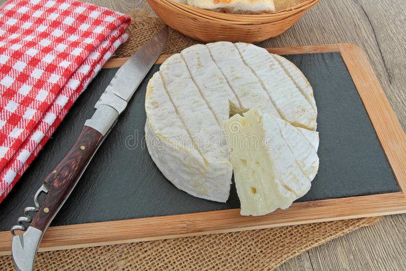 Camembert royalty free stock photos