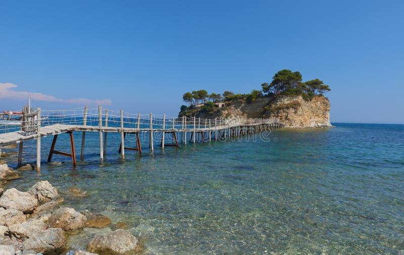 Cameo island - Zakynthos stock photos