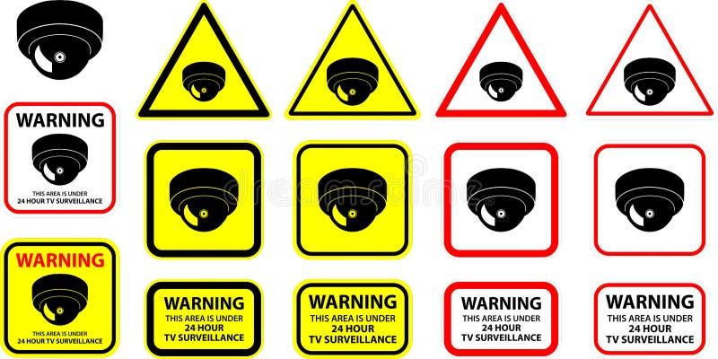 Camera 04 van de veiligheid stock illustratie