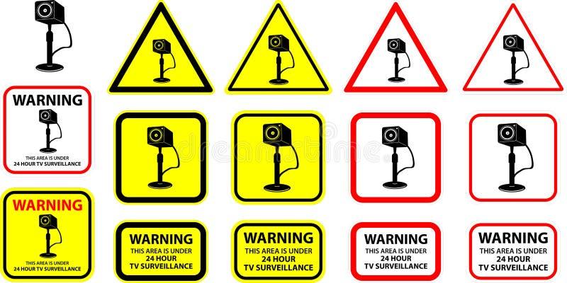 Camera 05 van de veiligheid vector illustratie