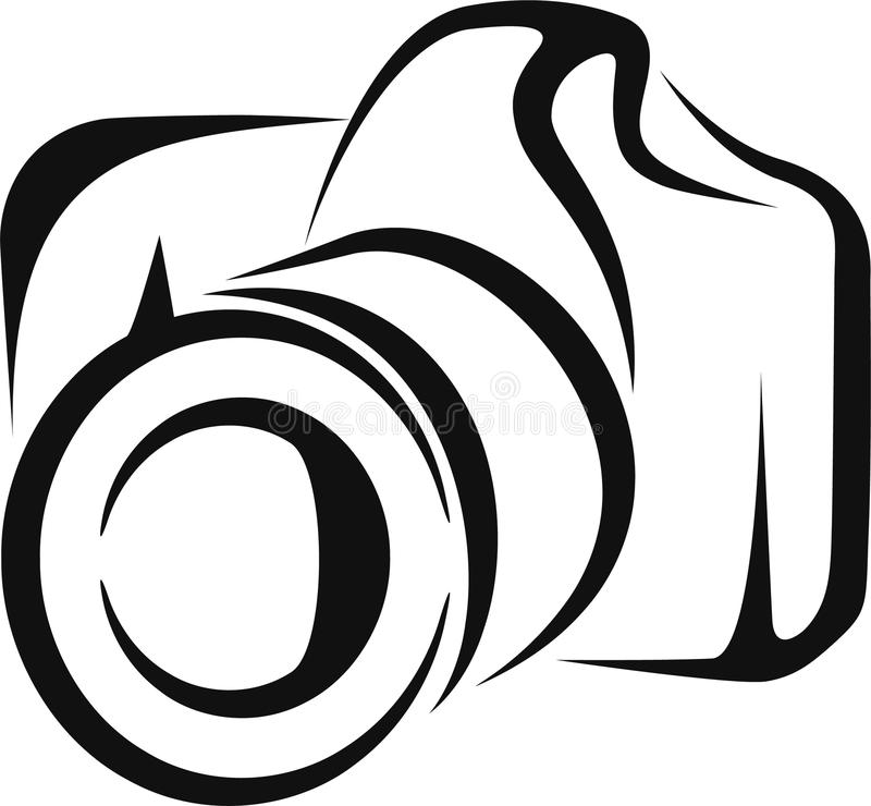 Camera vector illustratie