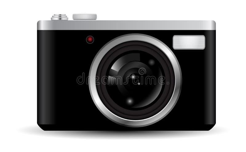 Camera. Retro photography stock illustration
