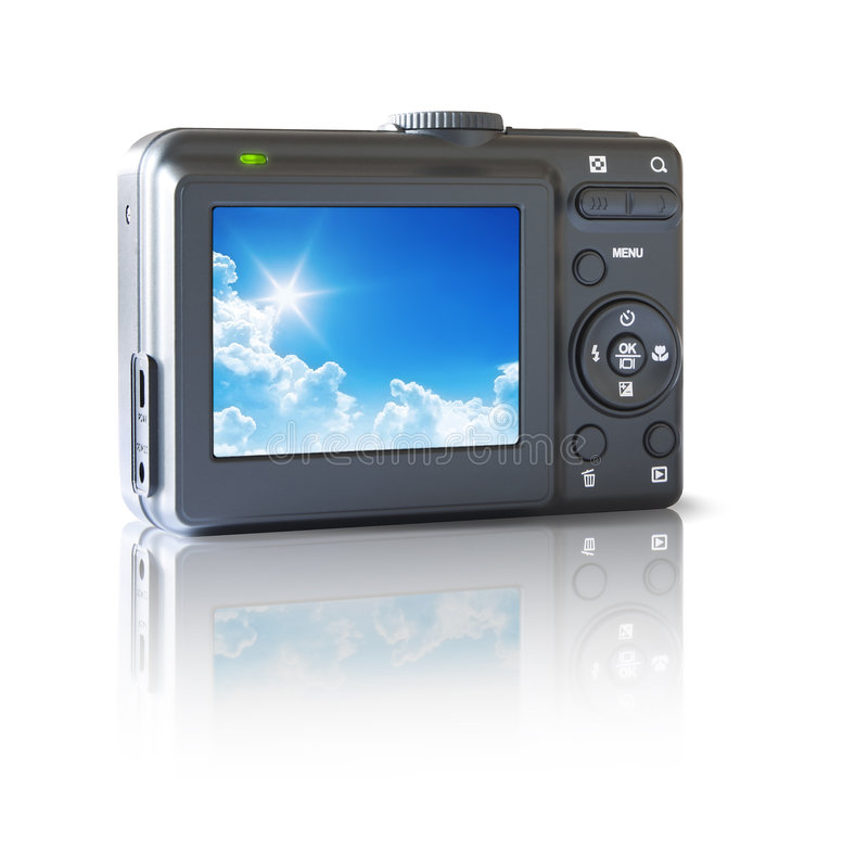 Download Camera stock illustration. Illustration of macro, button - 4507346