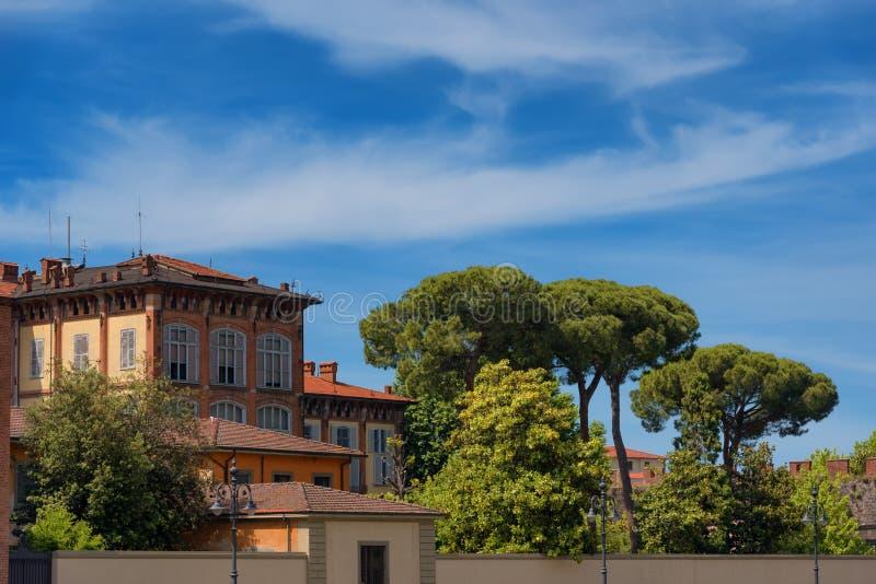 Camera al quadrato dei miracoli, dei Miracoli, Pisa, Italia della piazza fotografia stock