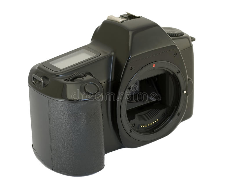 Download Camera Body On White Background Stock Photo - Image: 10568666