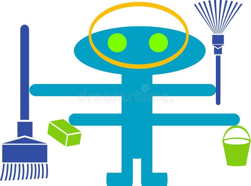 Camera cleanar illustrazione vettoriale