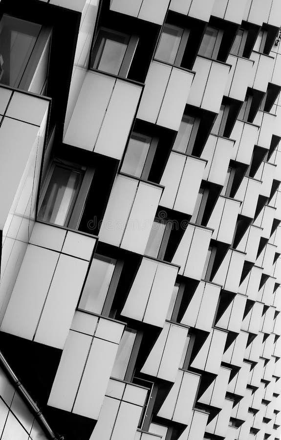 Camera con i balconi fotografia stock