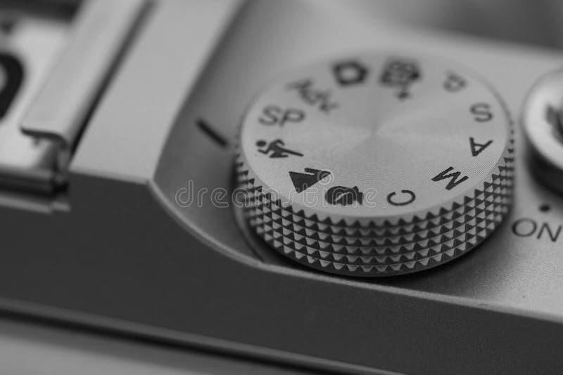 Camera controls stock photography