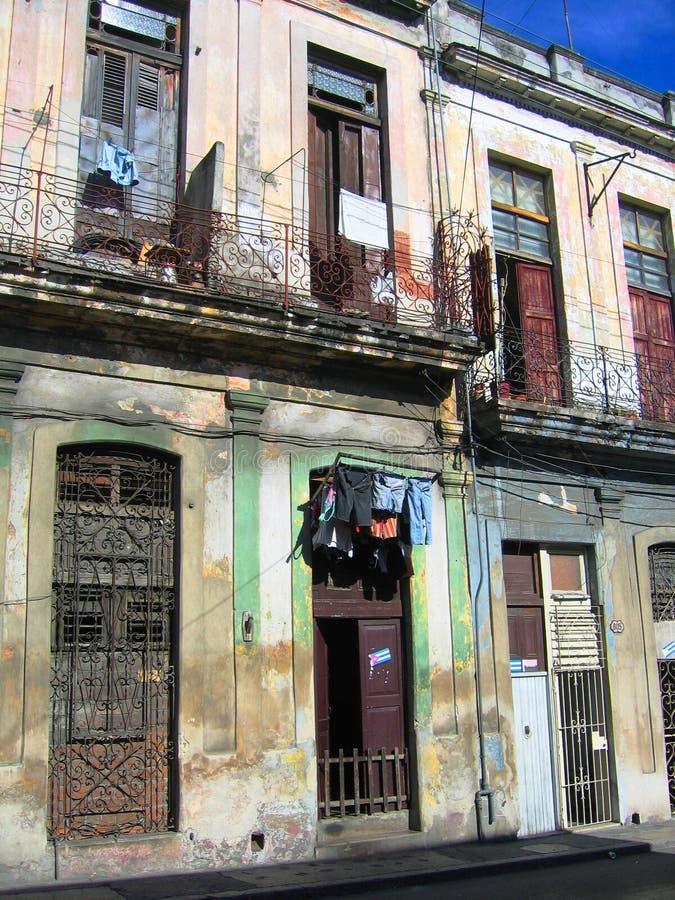 Camera cubana a Avana immagini stock libere da diritti