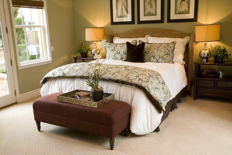 Camera da letto 2402 fotografie stock libere da diritti