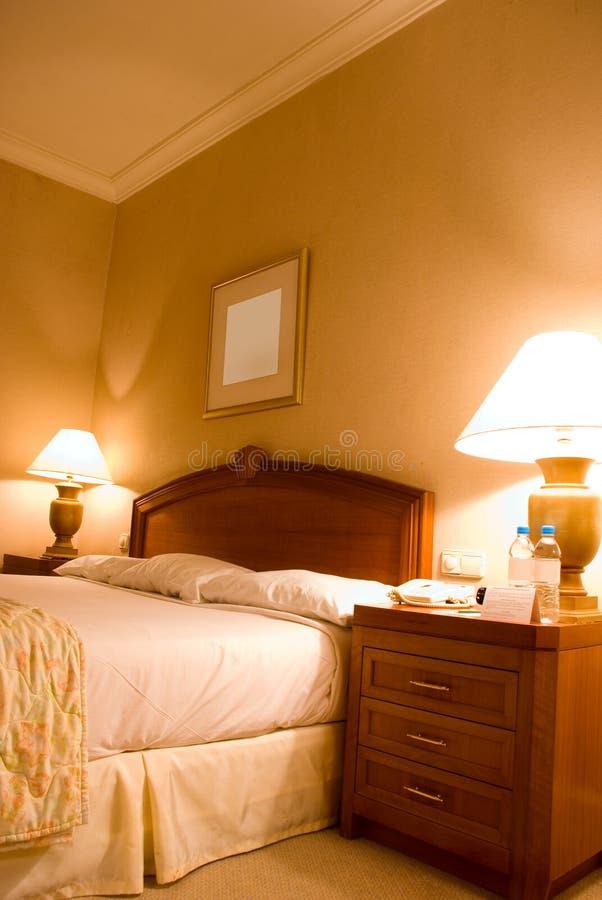 Camera da letto fotografie stock libere da diritti