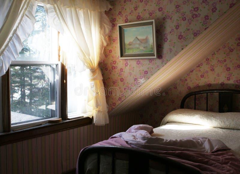 Camera da letto abbastanza dentellare per una ragazza fotografia stock libera da diritti