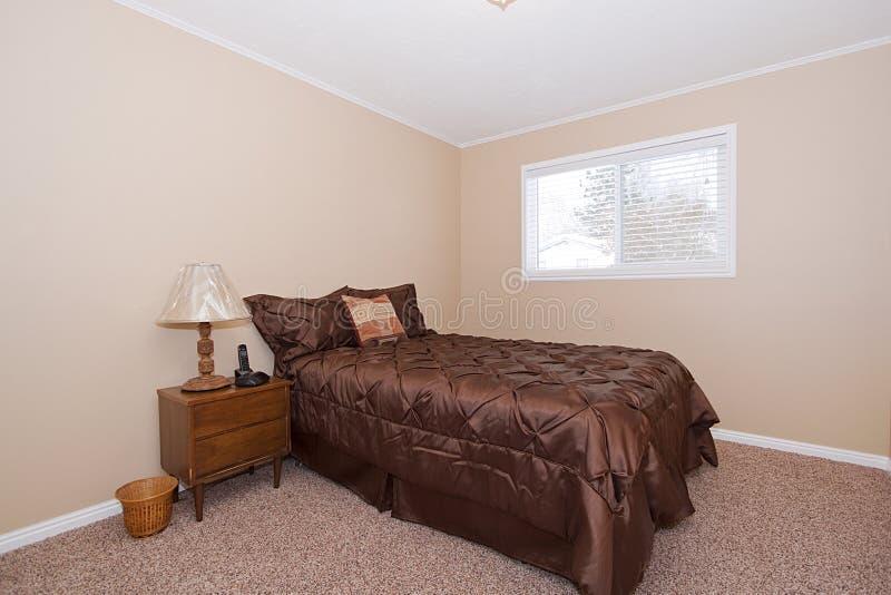 Camera da letto alla moda classica fotografia stock