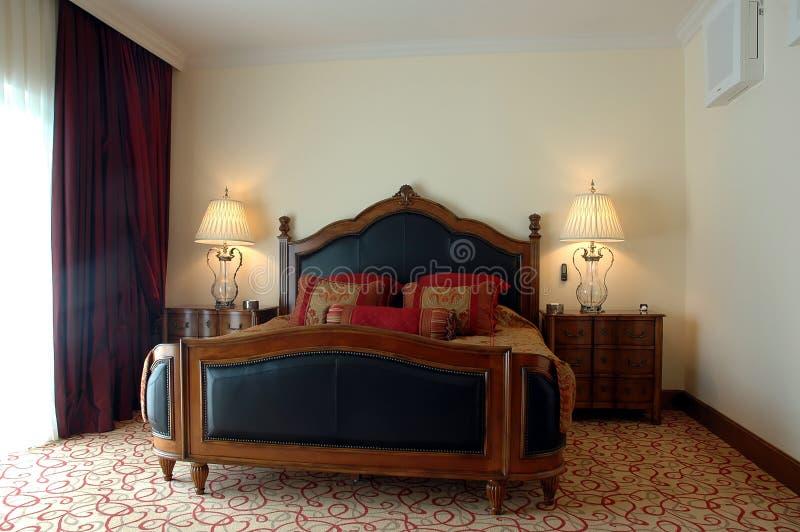 Camera da letto classica fotografie stock libere da diritti