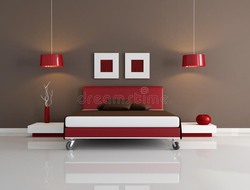 Camera da letto contemporanea illustrazione di stock - Camera da letto contemporanea ...