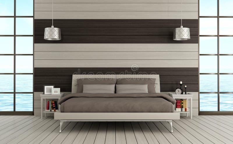 Camera da letto contemporanea illustrazione di stock illustrazione di base stile 29325254 - Camera da letto contemporanea ...