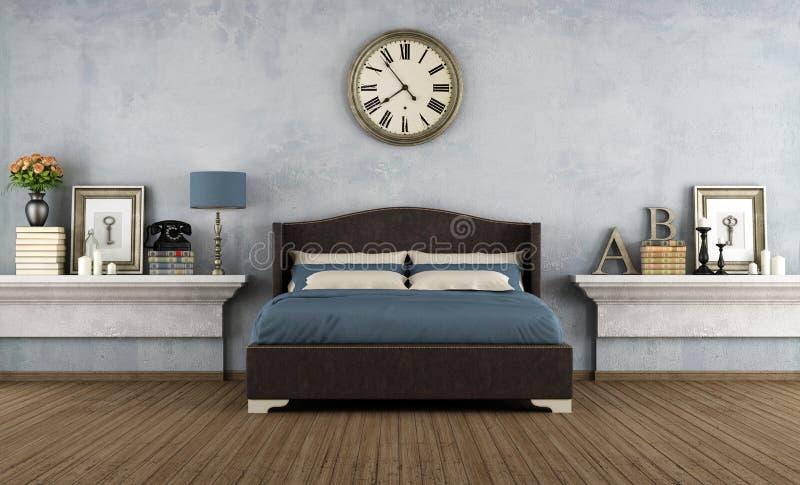 Camera da letto dell'annata royalty illustrazione gratis