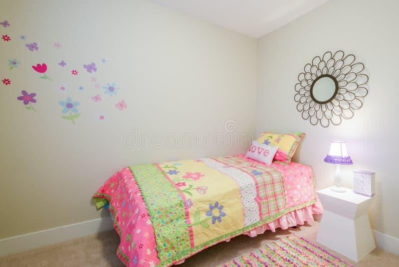Camera da letto della principessa dei bambini fotografie stock libere da diritti
