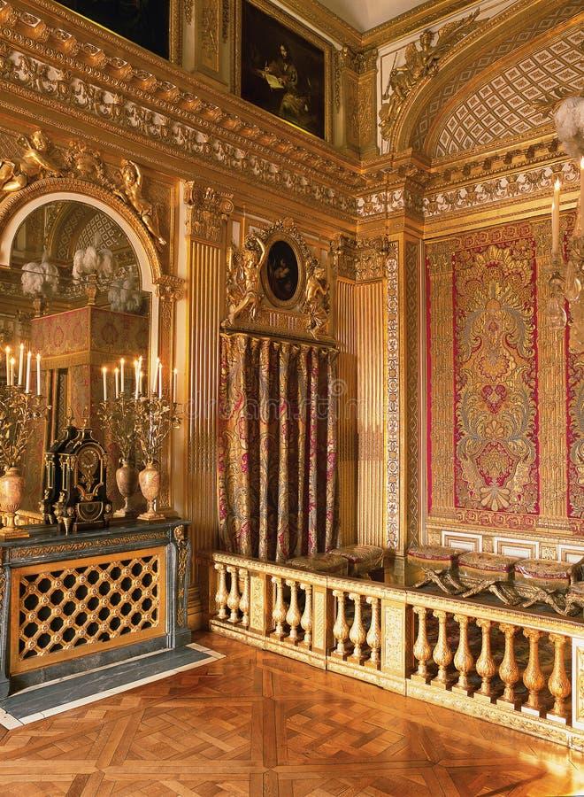 Camera da letto di re luigi xiv al palazzo di versailles - Letto versailles ...
