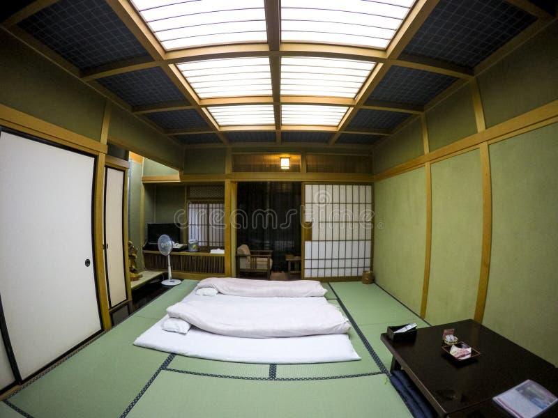 Camera da letto di tatami del giapponese immagine stock for Tatami giapponese