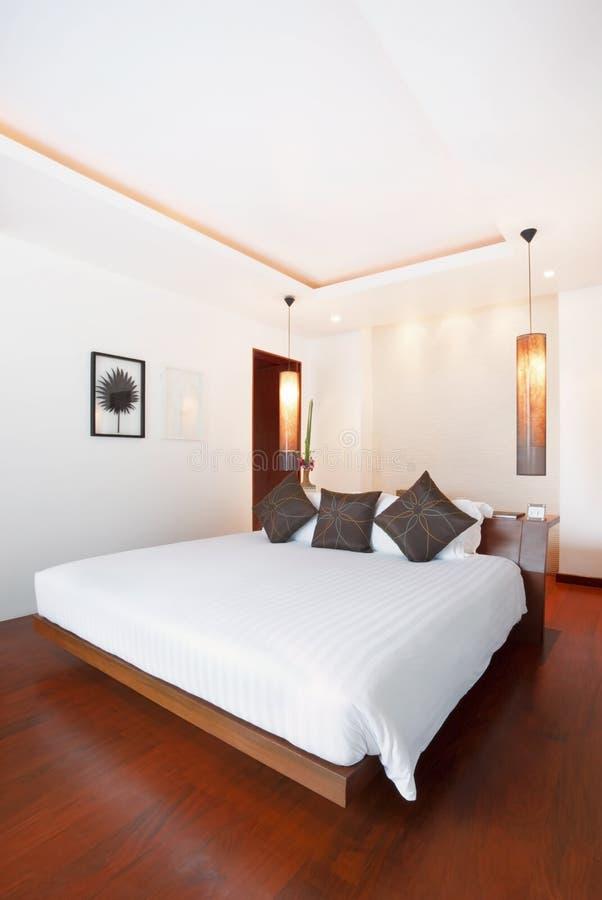 Camera da letto dolce di lusso fotografia stock