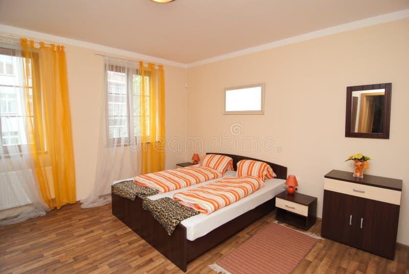 Camera da letto misura fotografie stock libere da diritti