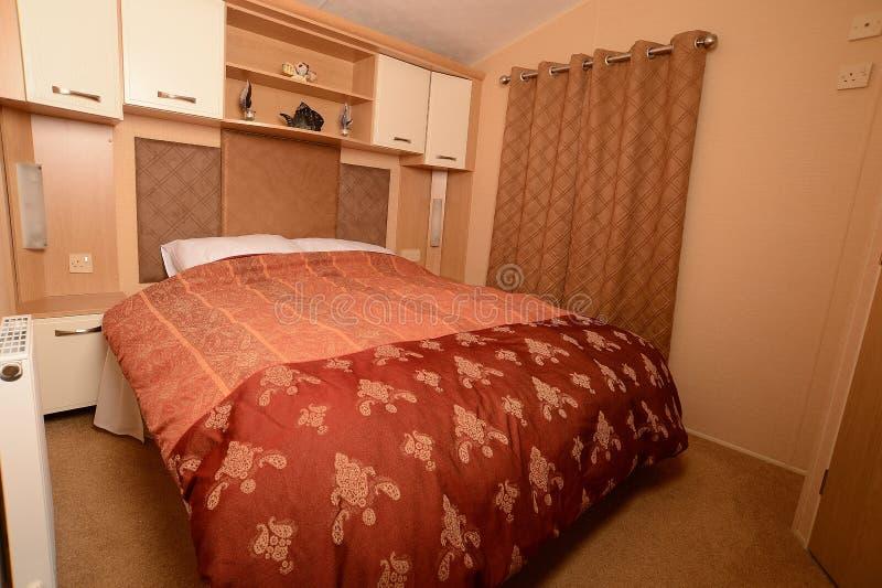 Camera da letto misura fotografie stock