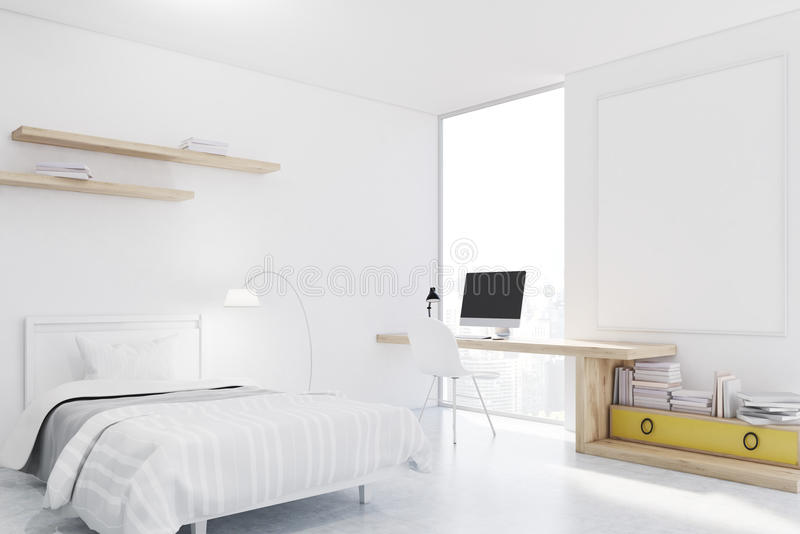 Angolo studio in camera da letto camere da letto pareti - Angolo studio in camera da letto ...