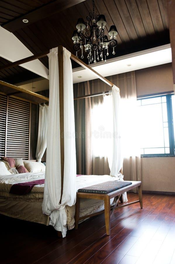 Camera Da Letto Orientale Di Stile Immagine Stock - Immagine di ...