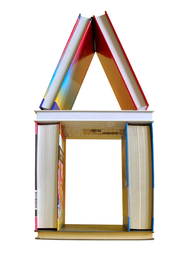 Camera dei libri fotografia stock libera da diritti