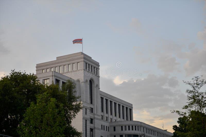 Camera del ministero degli affari esteri, Armenia immagini stock libere da diritti