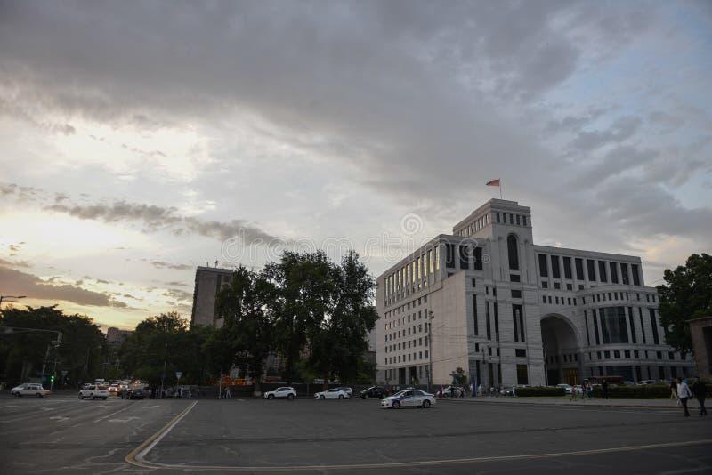 Camera del ministero degli affari esteri, Armenia fotografia stock libera da diritti