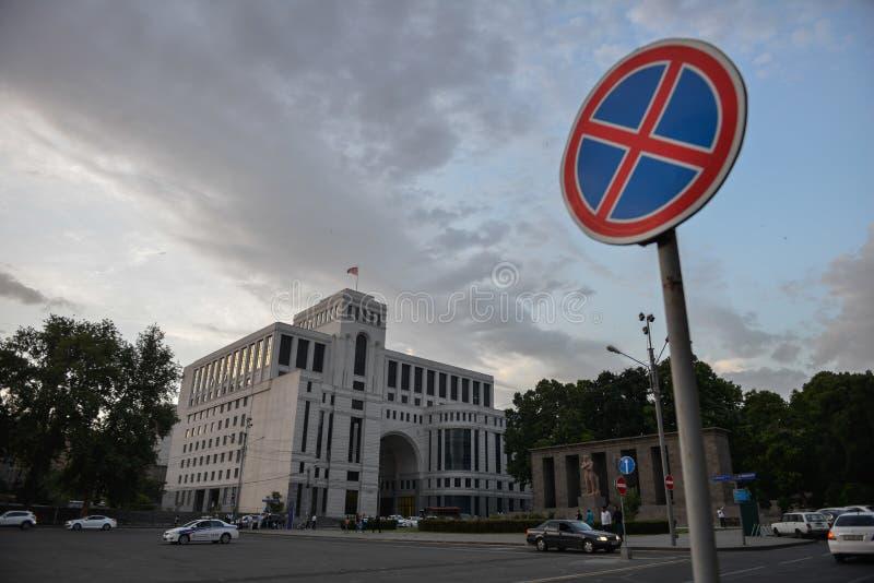 Camera del ministero degli affari esteri, Armenia immagine stock libera da diritti