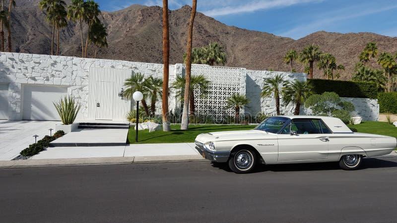Camera del Palm Springs con Thunderbird fotografie stock