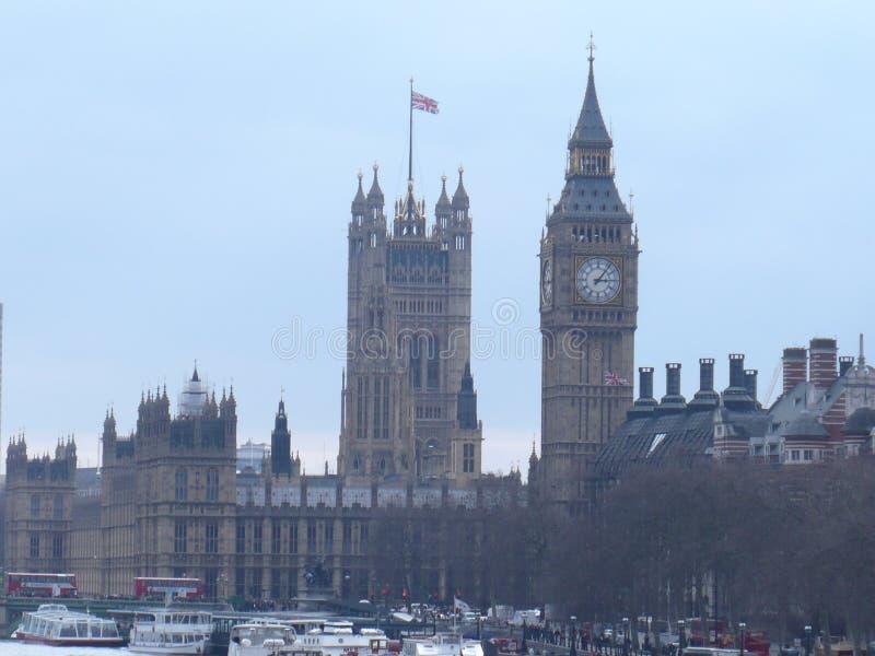 Camera del Parlamento e di Big Ben fotografia stock