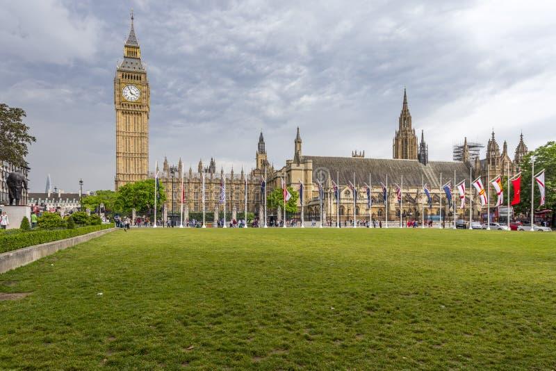Camera del Parlamento e di grande Ben fotografie stock libere da diritti
