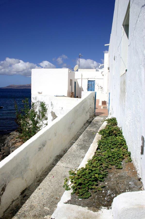 Camera del pescatore, Lanzarote immagine stock libera da diritti