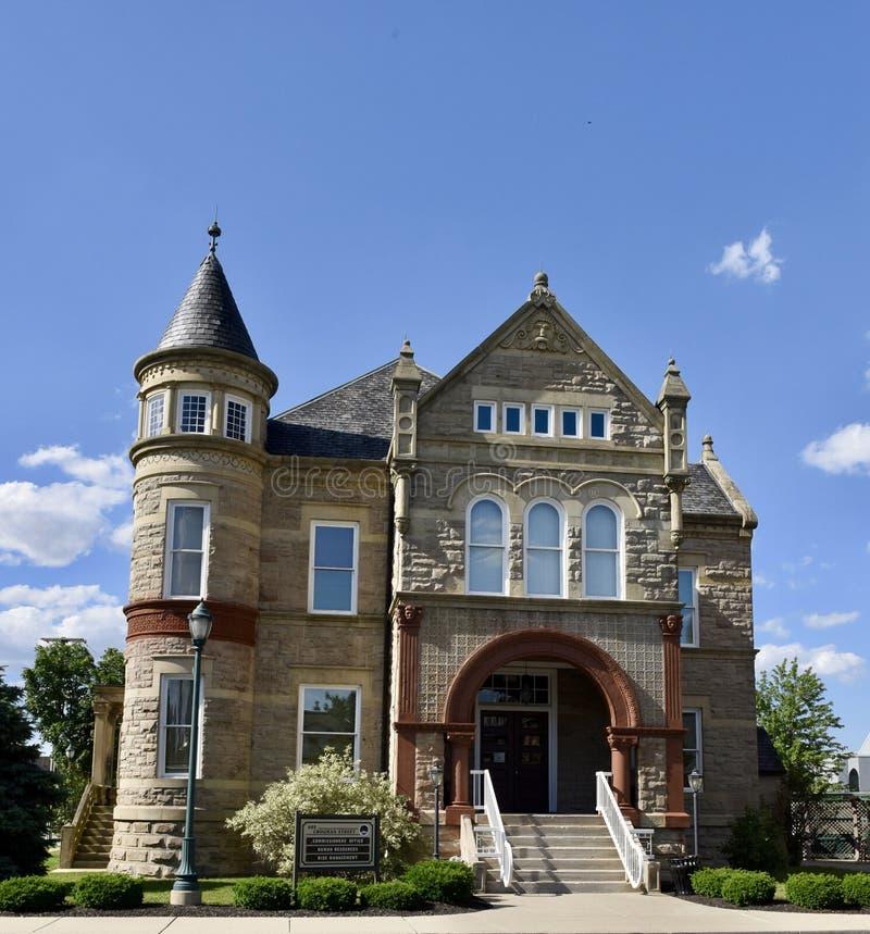 Camera del ` s della prigione e dello sceriffo della contea di Sandusky fotografie stock libere da diritti
