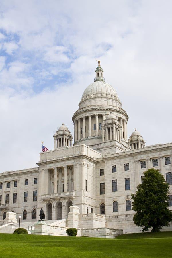 Camera della condizione del Rhode Island e costruzione di Campidoglio fotografia stock libera da diritti