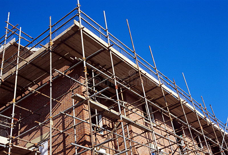 Camera della costruzione. immagine stock