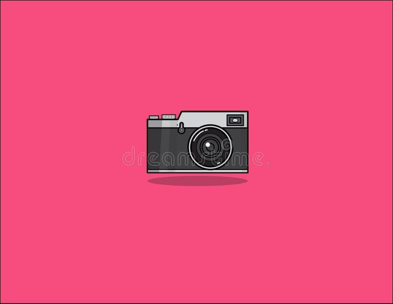 Camera vector design illustrator. stock photo