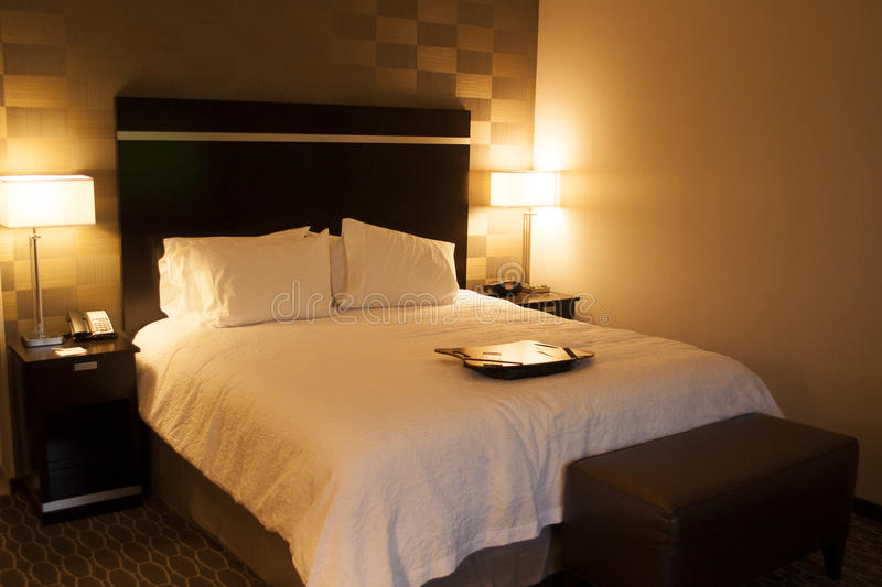 Camera di albergo immagine stock