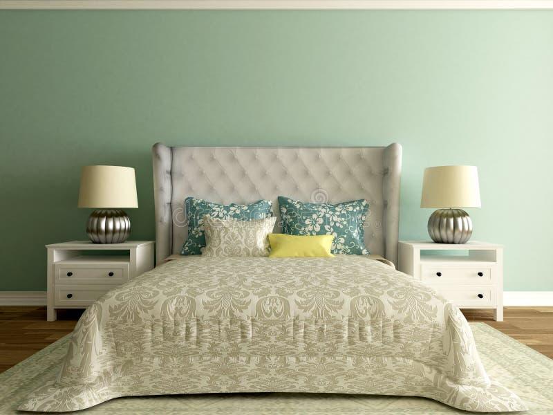 Camera di albergo interno della camera da letto stanza moderna illustrazione di stock - Stanza da letto moderna prezzi ...