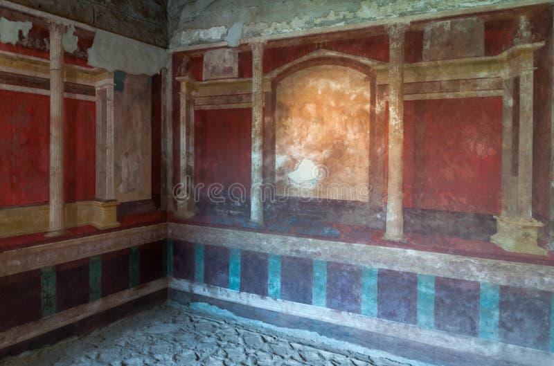 Camera di Augusto, collina di Palantine, Roma fotografia stock libera da diritti