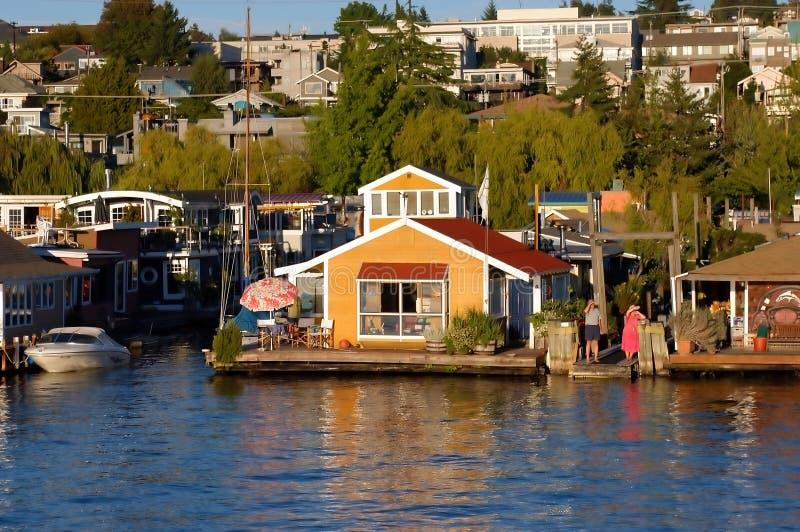 Camera di barca immagine stock